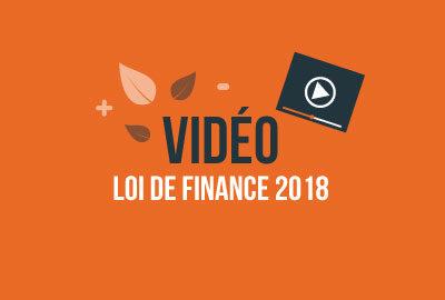 Loi Finance 2018