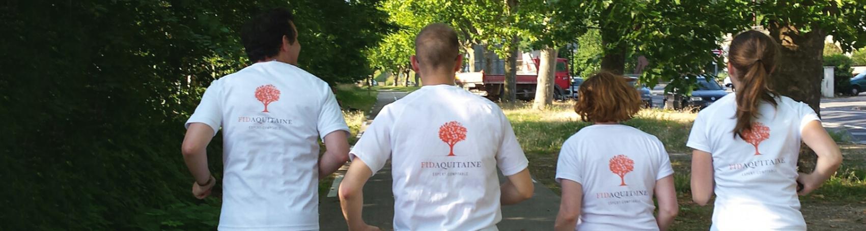 Fidrunning courir avec Fidaquiatine