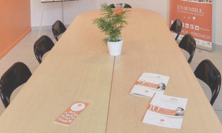 Salle perigueux reunion gratuite Dordogne