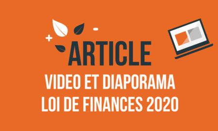 Support-video-diaporama-Loi-de-Finances-2020-et-loi-pacte